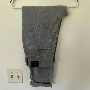 NWT American Eagle Grey Corduroy Pants